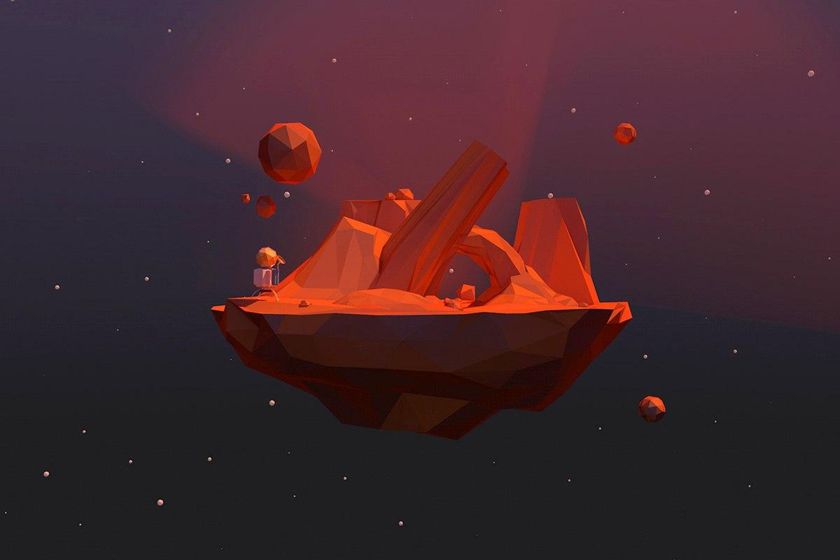 Desert-miniplanet
