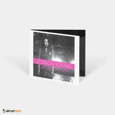 Replication / Digital Gatefold Single Pocket / Disc – 2 spot colours on a white base