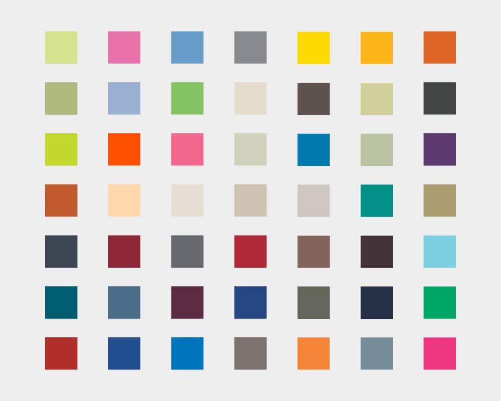 T-SHIRT-2000-Colours