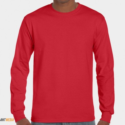 Long Sleeve T-shirt Printing – Gildan 2400 style