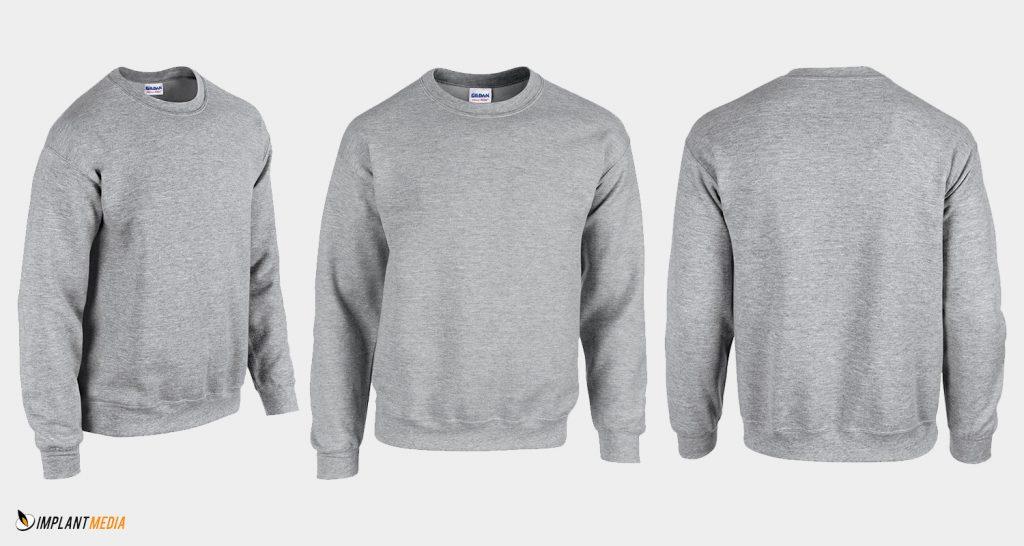 Crewneck Sweatshirt Printing Gildan 18000 Style