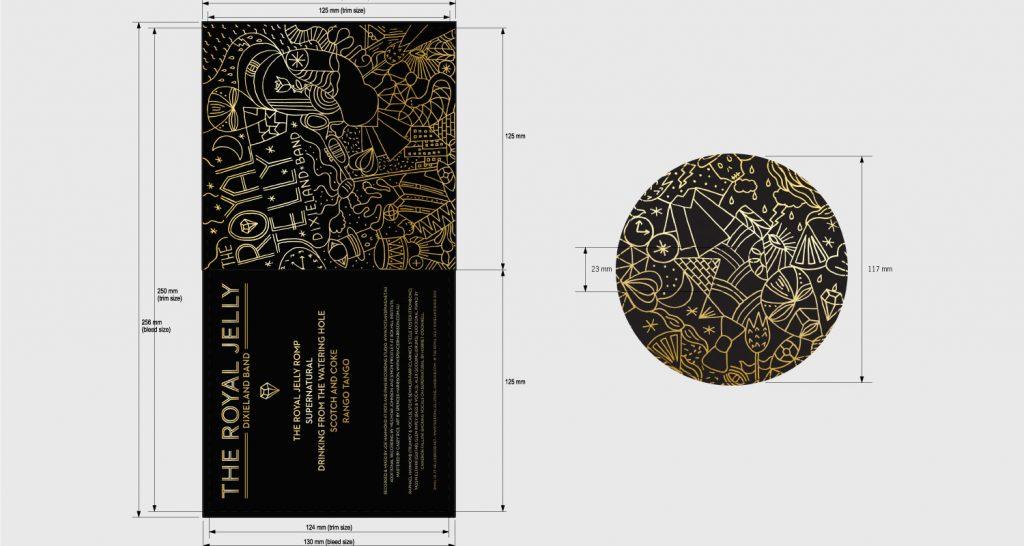 Duplication Card Sleeve Disc Full Print