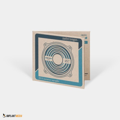 Duplication / Digital Gatefold – double pocket – boxboard stock / Discs – thermal black text print on a white disc